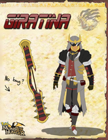Giratina Male G Rank Armor Set by vaporeono