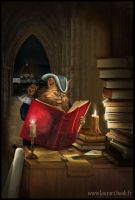 The cat reader by laura-csajagi