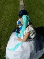 Deviant ID- Kaito and Miku by seriouslyblondie