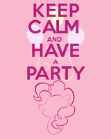 Keep Calm and Have a Party by thegoldfox21
