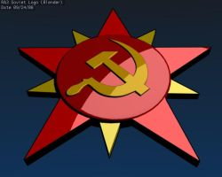 Red alert 3 soviet logo by flightcrank