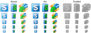 Accounting Development Icons by Sasha111111