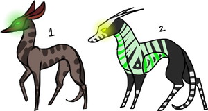Creature Adoptables [CLOSED] by Kydox-Adopts