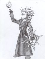 Axel with a little friend by Black-Jack21