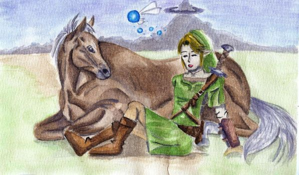You and me Epona You and me by DO-anotherstory