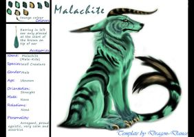 Malachite Reference Sheet by DansuDragon