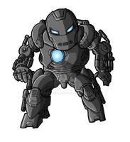 Chibi Movie Iron Monger by GuyverC