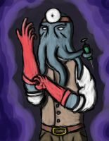 Herr Doctor Illithid by TechnOkami