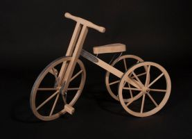 My Wooden Trike - Uni Project by sfxbecks