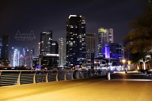 night Dubai Marina 12 by amirajuli