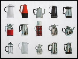 15 Coffee Pots by soul-deodorant