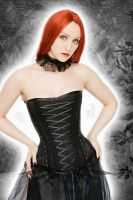Dark Fairy Overbust Corset by azdaja