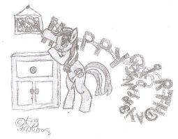 Happy B-day drawing for Bri by TintjeMadelintje101
