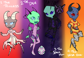 Auctioning Adoptables... (Closed!) by ProjectHalfbreed