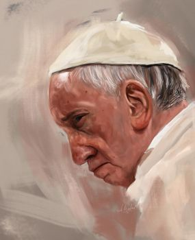 Pope Francis by caracurt86