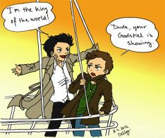 SPN King of the World by angeltrap
