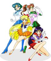 Inner Sailor Senshi by Pisces1090
