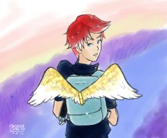 The boy of the wings by AndiWave