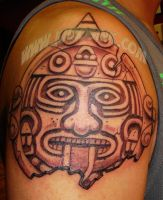 Aztec Sun by SpikeJones67