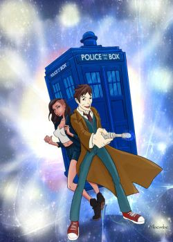 Doctor Who and Skin Diamond by Mbembe