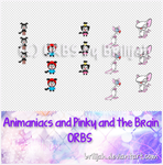 Animaniacs and Pinky and the Brain ORBS by Brilijah