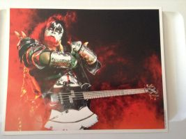 KISS Concert Club Photo 3 (Gene Simmons) by UKD-DAWG