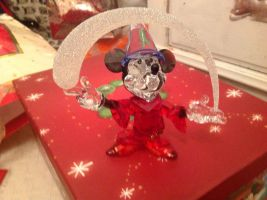 What I had for Christmas 2 Swarovski mickey ^^ by alucardserasfangirl