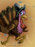 Turkey Trot by KileyBeecher