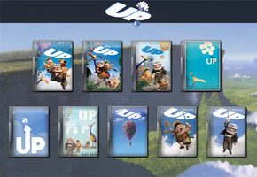 Up Movie Icon Collection 2009 by WimboJallis121