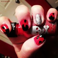 Halloween Nails by Wingreader
