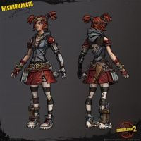 Gaige - Borderlands 2 by Izzybella4