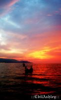 .:Penang Sunset-III:. by EbilAshley