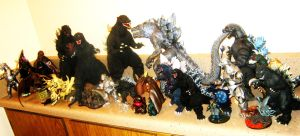 Godzilla class photo 2012 B (collection update) by XxHXCLIONxX