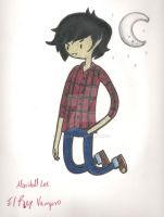 Marshall lee El Rey Vampiro by Xcoqui