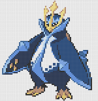 Empoleon by Hama-Girl