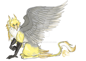 Cockatiel Gryphon by starmixed