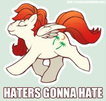 Haters gonna hate by Nyaasu