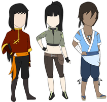 Custom LoK Adoptables for Promise-Reprise by FudgeNugget