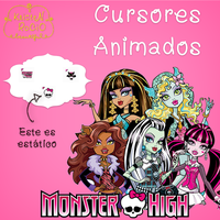 Cursores Animados Monster High by RoohEditions
