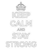 #Stay Strong PNG by BrenduGomezEditions