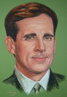 Steve Carell by Andromaque78