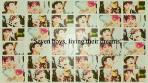 Seven boys, living their dreams wallpaper by OutlawEdition