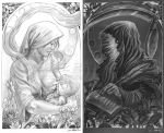 The Duality of Life and Death: Diptych by ExiledChaos