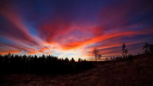 Sunset clouds by JuhaniViitanen