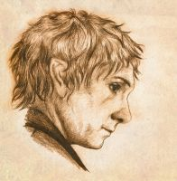 Bilbo sketch by vanora13