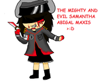 evil sam by lenabellashley