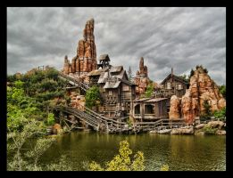 Big Thunder Mountain by ArtClem