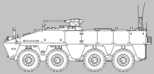 MA9A3 WMAV APC Production Prototype [Uncoloured] by SixthCircle