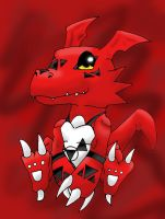 Guilmon by Diggersby-Tho