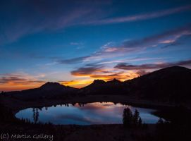 Helen Lake sunset by MartinGollery